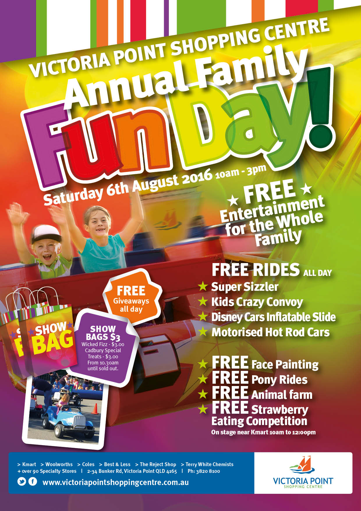 Annual Family Fun Day 2016 Counter Card