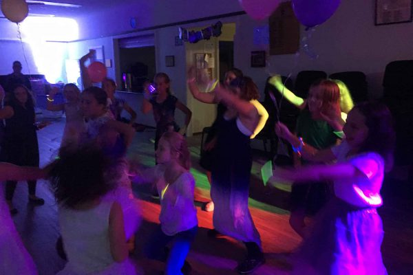 Glow in the Dark Disco Party out at Cleveland