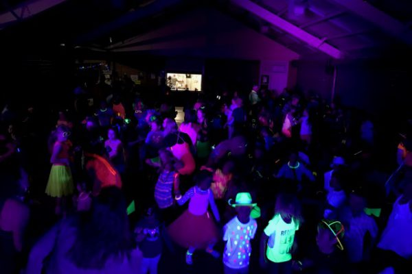 Glow in the Dark School Disco
