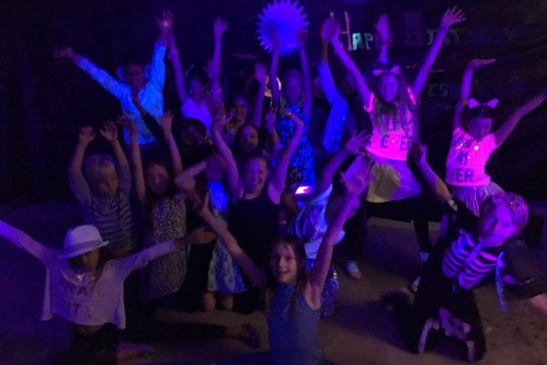 Maddison's Birthday Glow in the Dark Disco