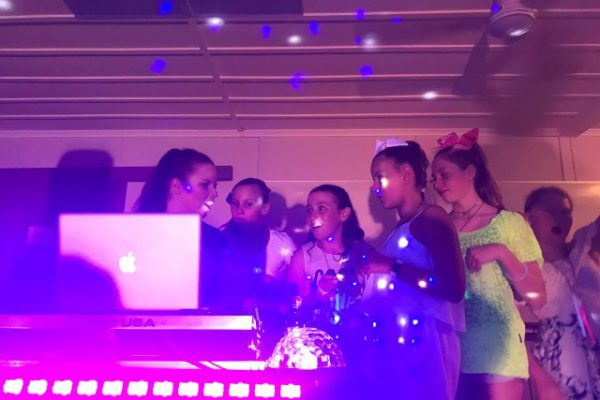 Meagan's Glow in the Dark Party with DJ EMILY
