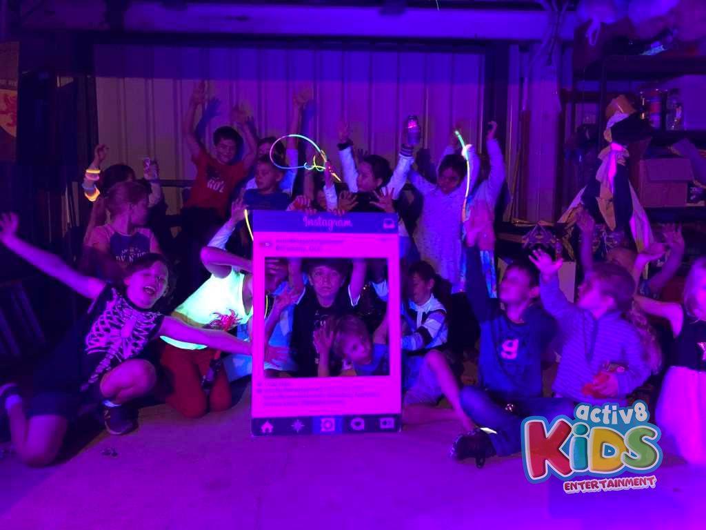 Adams 9th Birthday Party Kids Disco
